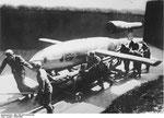 V1 Flugkörper wird zur Abschussrampe befördert I