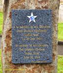 Gedenktafel für die 2nd Infantry Division I