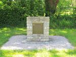 Denkmal für sieben hier an dieser Stelle getötet Fallschirmjäger der I Company, 505th PIR