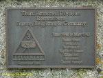 Gedenktafel für die 3rd Armoured Division