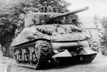 Sherman Rhinozerus - erfunden von U.S. Army Sargeant Curtis G. Culin, 2nd Armored Division