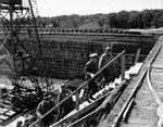 Generäle Eisenhower und Bradley bei der Besichtigung der V2 Stellung bei Sottevast