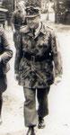 Generalleutnant Richard Schimpf, Kommandeur der 3. Fallschirmjäger-Division