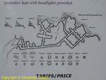 Plan des unterirdischen Tunnelsystems