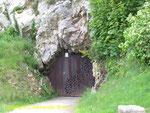 Eingang zur Besichtigung des unterirdischen Tunnelsystems II