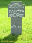 Grab von Generalleutnant Heinz Hellmich, Kommandeur 243. Infanterie-Division