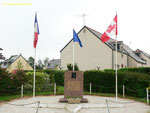 Denkmal zur Erinnerung an Flight Officer Thomas Melville Pethick, 430 Royal Canadian Air Force