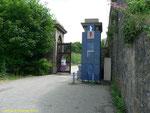 Eingang zum Fort du Roule