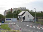 Der neue Zugang zum Arsenal von Cherbourg