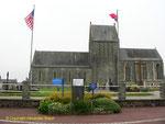 Die wieder aufgebaute Kirche von Couvains