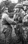 General der Fallschirmtruppe, Eugen Meindl, Kommanduer des II. Fallschirm-Korps