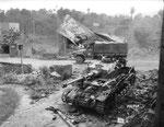Zerstörter Panzer IV