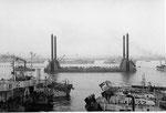 Mulberry A Hafen am 16. Juni 1944 vor dem großen Sturm VI