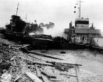 Mulberry A Hafen nach dem großen Sturm I