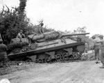 M 10 Wolverine Panzerjäger südlich von St-Jean-de-Daye