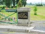 Gedenktafel für die Eroberung der Brücke von St-Fromond I