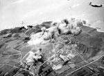 Fliegerangriff am 28. Juni 1944 auf die beiden Batterien bei Auderville