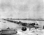 Mulberry A Hafen am 16. Juni 1944 vor dem großen Sturm III