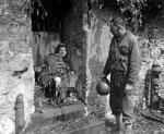 Blutjunges seutsches Opfer des Kampfes um Cherbourg