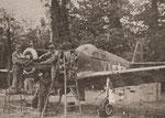 Wartung eines P-51 Mustung Photoaufklärers