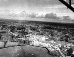 Luftaufnahme Saint Sauveur le Vicomte, Juni 1944