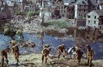 St-Lo nach der Schlacht - Ein Ruinenfeld II