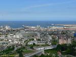 Blick auf Cherbourg vom Musée de la Libération I