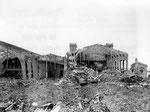 Der völlig zerstörte Gare Maritime III