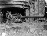 St-Marcouf - Skoda K39/40 21 cm Geschütz