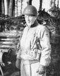 Major General Leroy R. Watson, Kommandeur der 3 Armored Division