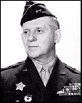 Major General Clarence R. Huebner (1st ID)