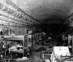 Mannschaftunterkunft im unteren Stockwerk des Fort du Roule