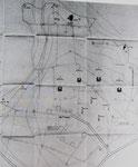 Skizze der M.K.B Landemer M.A.A. Castel-Vendon