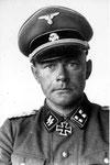 SS-Brigadeführer und Generalmajor der Waffen-SS Werner Ostendorff, Kommandeur der 17. SS-Panzergrenadier-Division