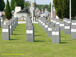 Sektion der Soldatengräber aus dem I. Weltkrieg II