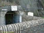 Eingang zum ehemaligen Untergrundhospital der Wehrmacht II