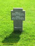 Grab von Generalleutnant Rudolf Stegmann, Kommandeur 77. Infanterie-Division