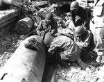 US-Pioniere entschärfen deutsche Minen