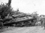 US Panzerjäger vom Typ M10 wie er vom 899th Tank Destroyer Battalion eingesetzt wurde