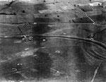 Luftaufnahme der Schleuse von La Barquette