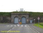 Der alte Zugang zum Arsenal von Cherbourg
