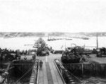 Mulberry A Hafen am 16. Juni 1944 vor dem großen Sturm I
