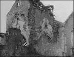 Die Kirche nach dem Brand