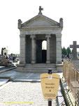 Das Mausoleum der Familie Blanchett