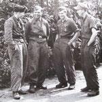 Oberscharführer Johann Thaler mit seiner Panzercrew, die 6./SS.Pz.Reg 2 stand vom 8. - 10. Juli gegen das XIX Army Corps im Einsatz