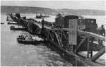 Mulberry A Hafen am 16. Juni 1944 vor dem großen Sturm VIII