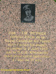 Denkmal zur Erinnerung an Flight Officer Thomas Melville Pethick, 430 Royal Canadian Air Force II