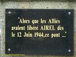 Gedenktafel für die Befreiung von Airel II