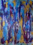 Farbspiel, Acryl auf Leinwand, 60 x 80 cm, 2006