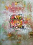 Quadrat, Acryl auf Leinwand, 60 x 80 cm, 2017